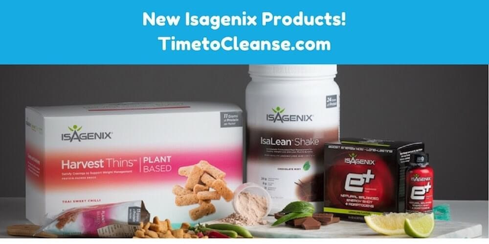 New Isagenix Products