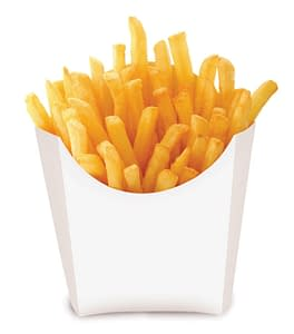 fried chips in cup
