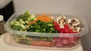 Vegetable food bowl