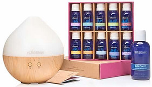 essential oil collection with cool mist diffuser