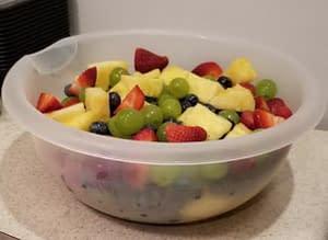 Fruit Bowl prep