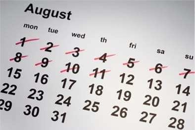 august calender