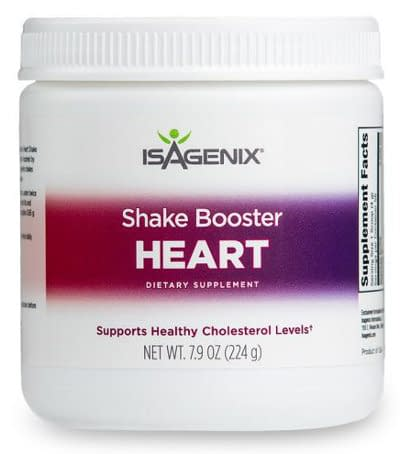 heart shake booster isagenix