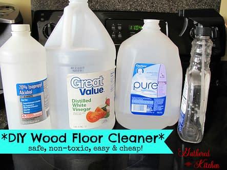 non toxic wood floor cleaner