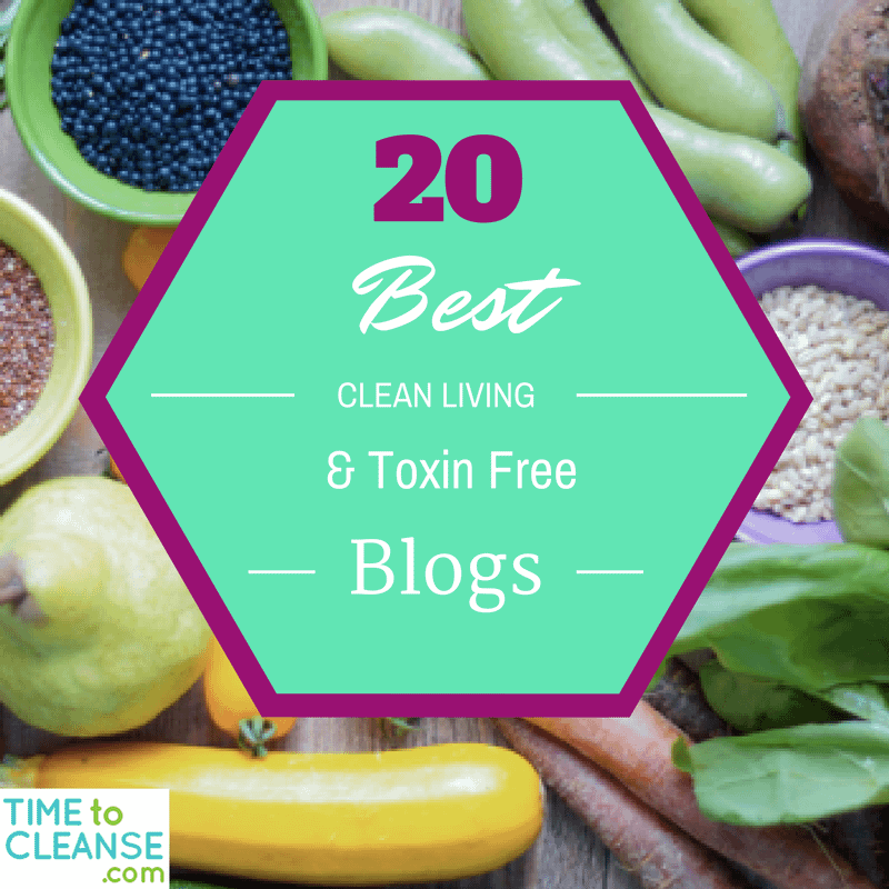 20 Best Clean Living and Toxin Free Blogs