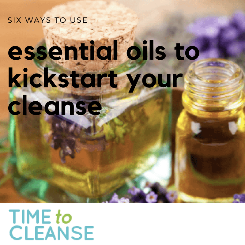 essential oils to use during a cleanse