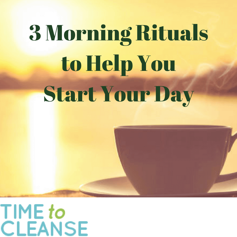 morning rituals to help you start your day