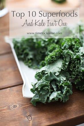 10 super foods kale