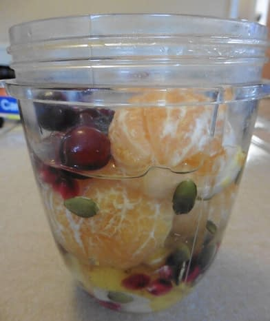 combination of fruits to juice