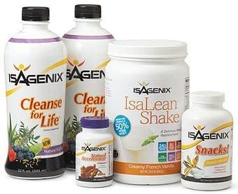 limpieza en 9 días de Isagenix