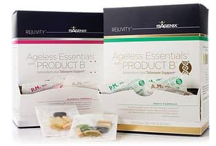 ageless essentials packaging