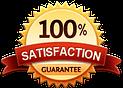 Satisfaction guarantee badge