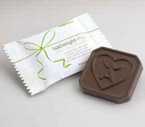 isa delight individual chocolate