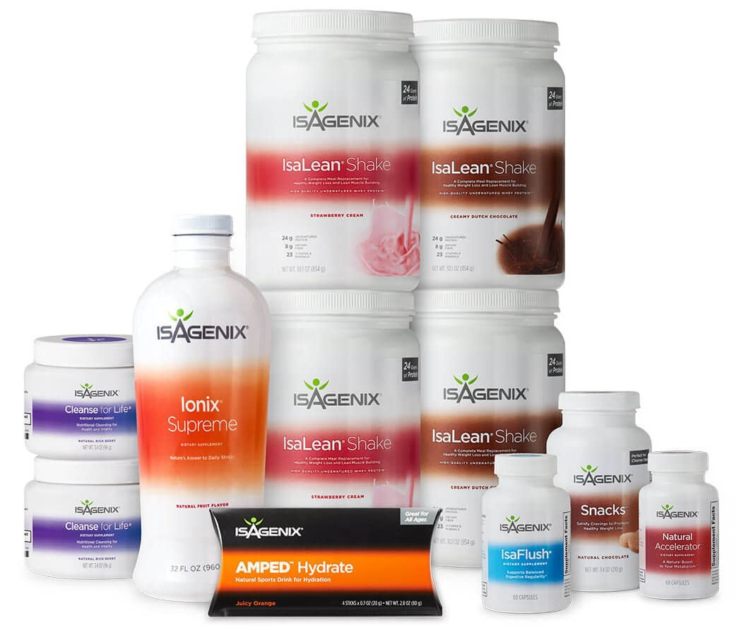 Isagenix 30 Day Cleanse New Packaging