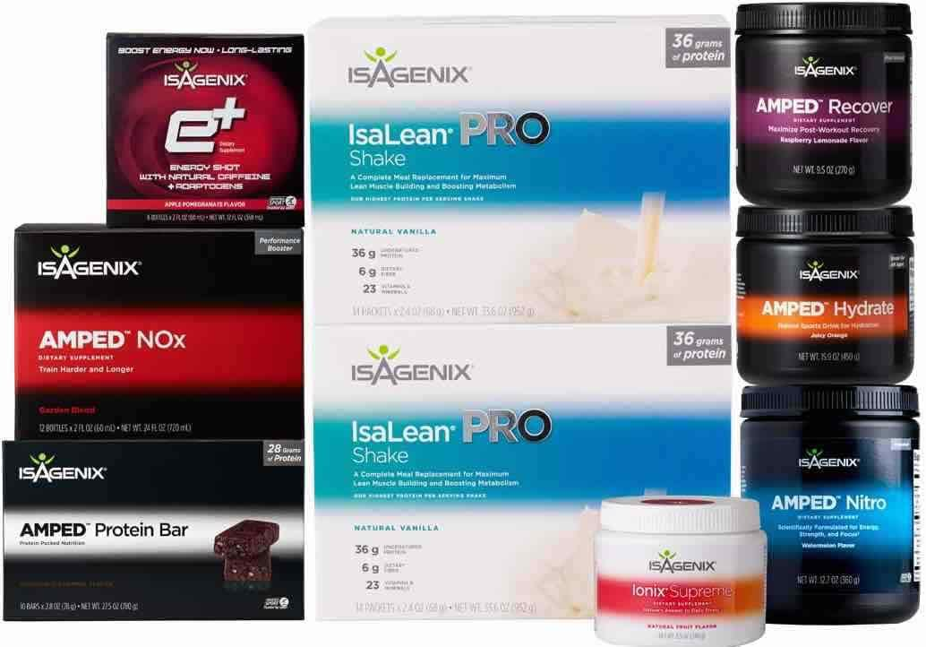 Isagenix performance pack