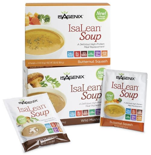 isalean soup packets