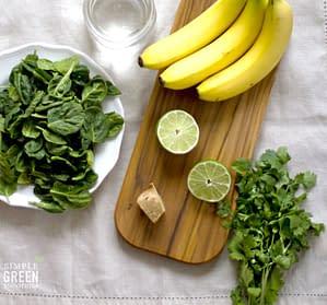 cilantro lime smoothie