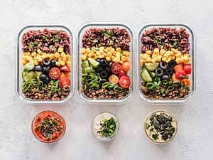 glass food containers for meal prep