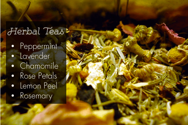 herbal tea detox bath