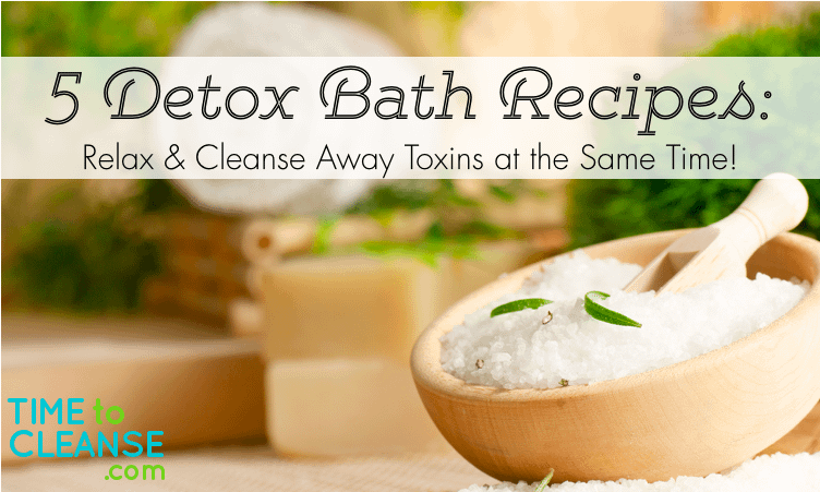 5 detox bath recipes