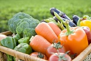 organic fruit veg
