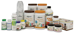 Isagenix presidents pak all products